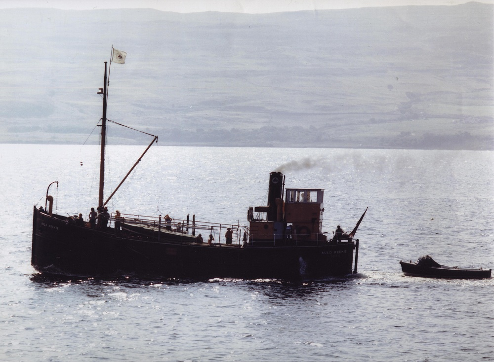 Vic 27 as Youth Training Vessel in 70s